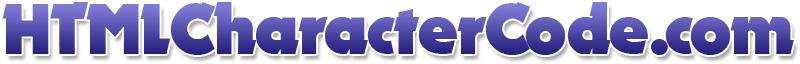 HTML Character Code.com Logo
